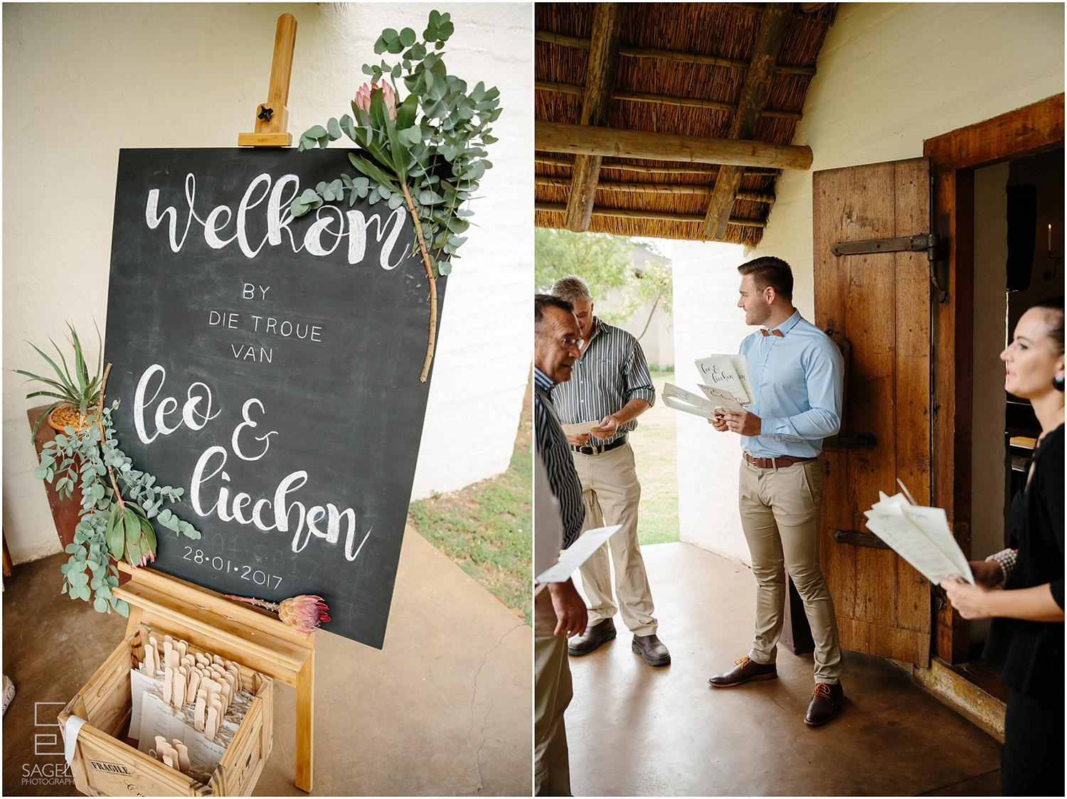 Bush Weddings near Pretoria at Mongena Game Lodge