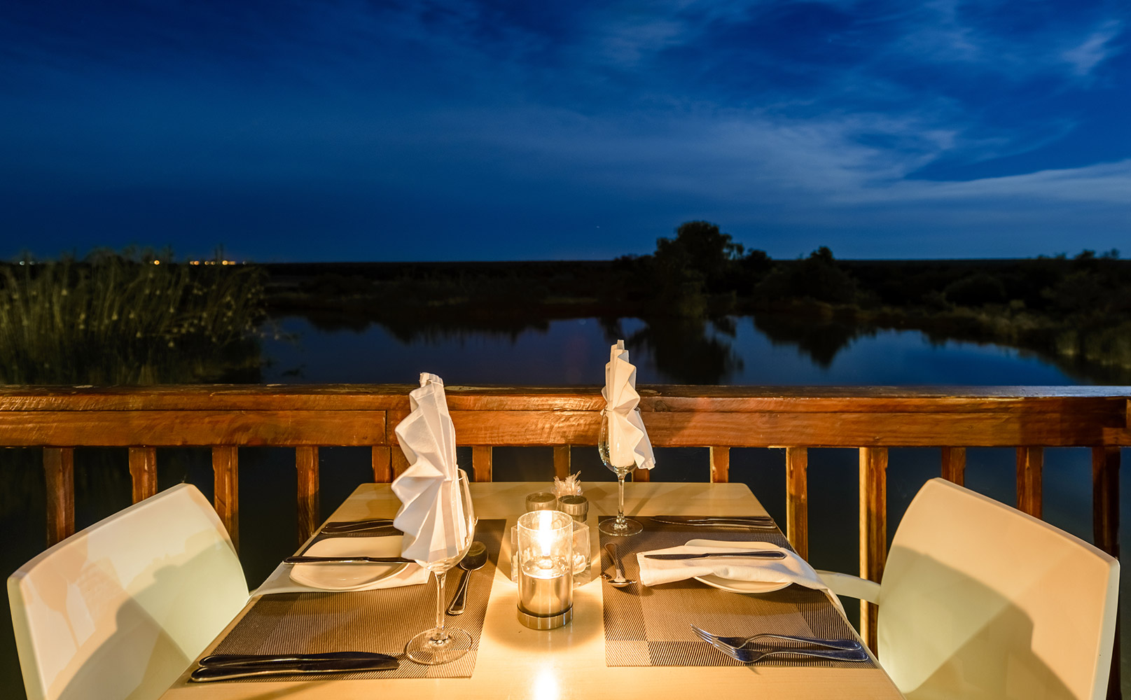 Dinner at Dinokeng Game Reserve