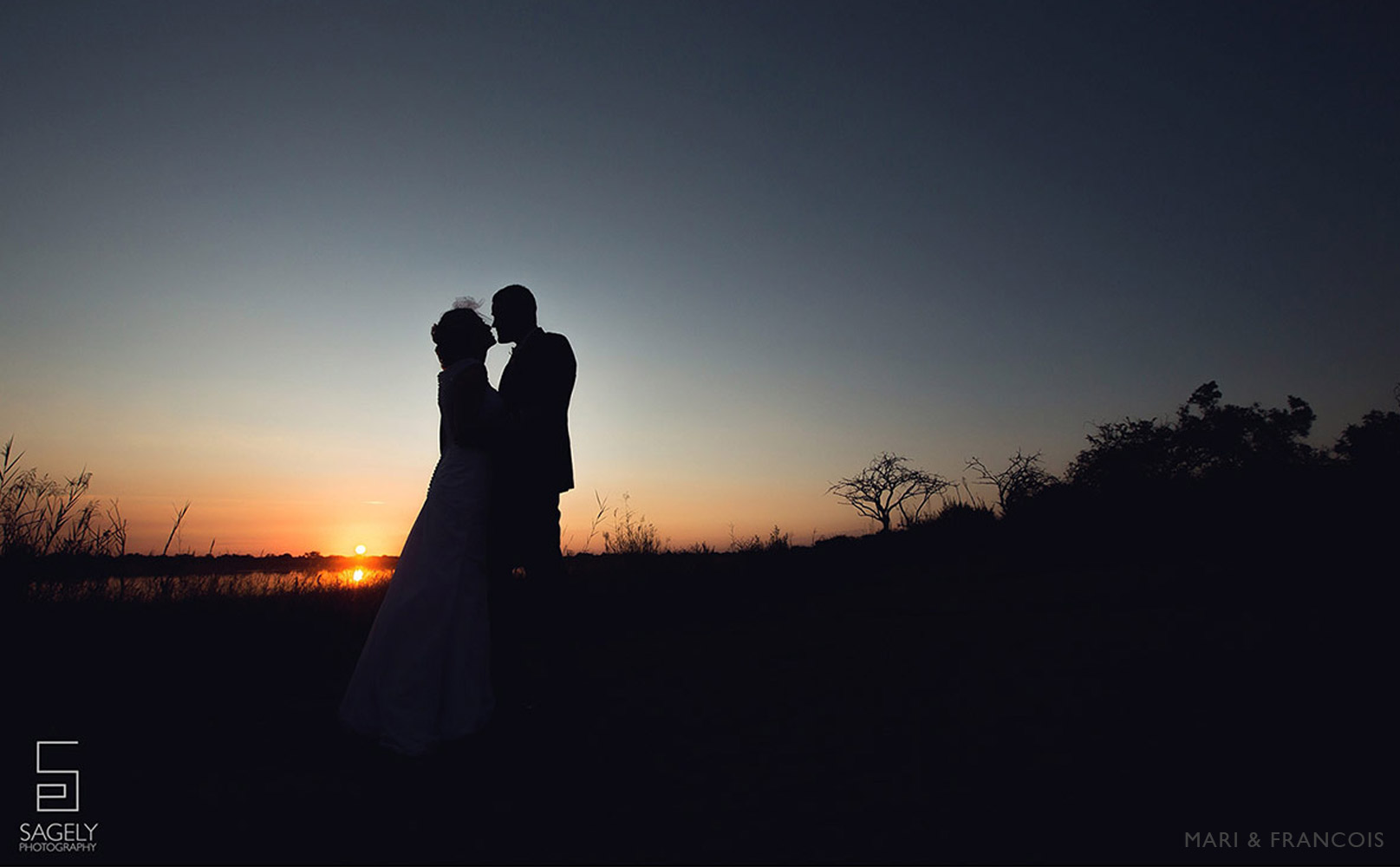 Sunset Bush Wedding at Mongena